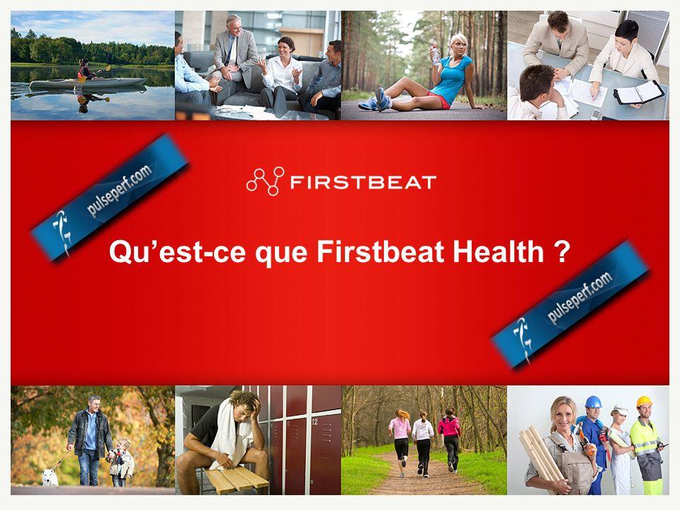 Firstbeat Technologies Organisation spécialiste du traitement dinformations sur les battements cardiaques.