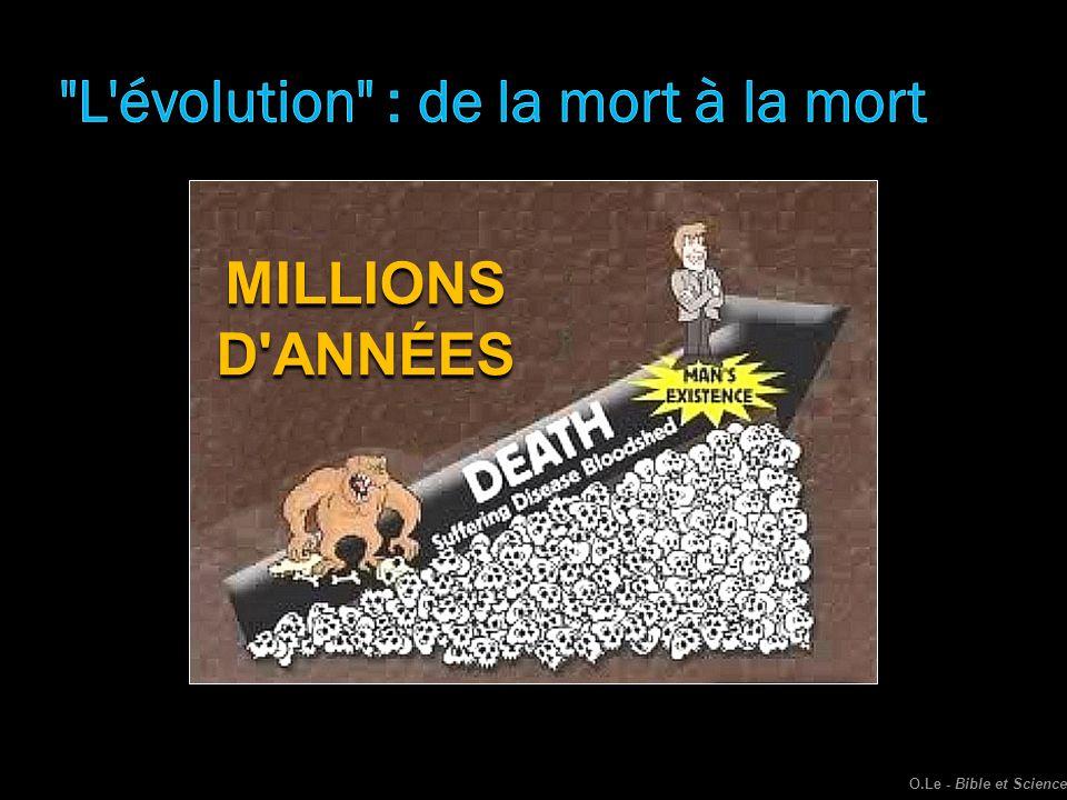 MILLIONSD'ANNÉES