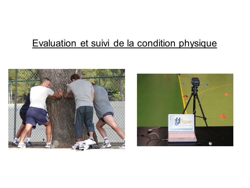 Evaluation et suivi de la condition physique