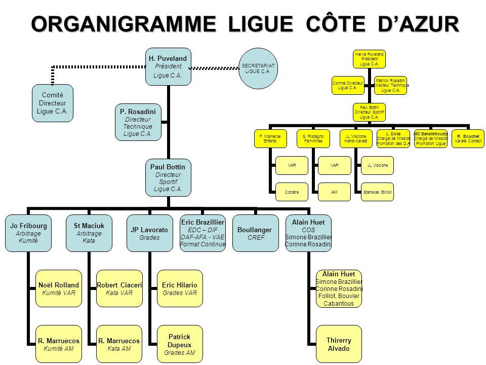 SECRETARIAT LIGUE C.A.Comité Directeur Ligue C.A.