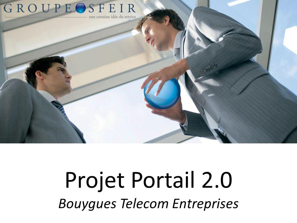 Projet Portail 2.0 Bouygues Telecom Entreprises