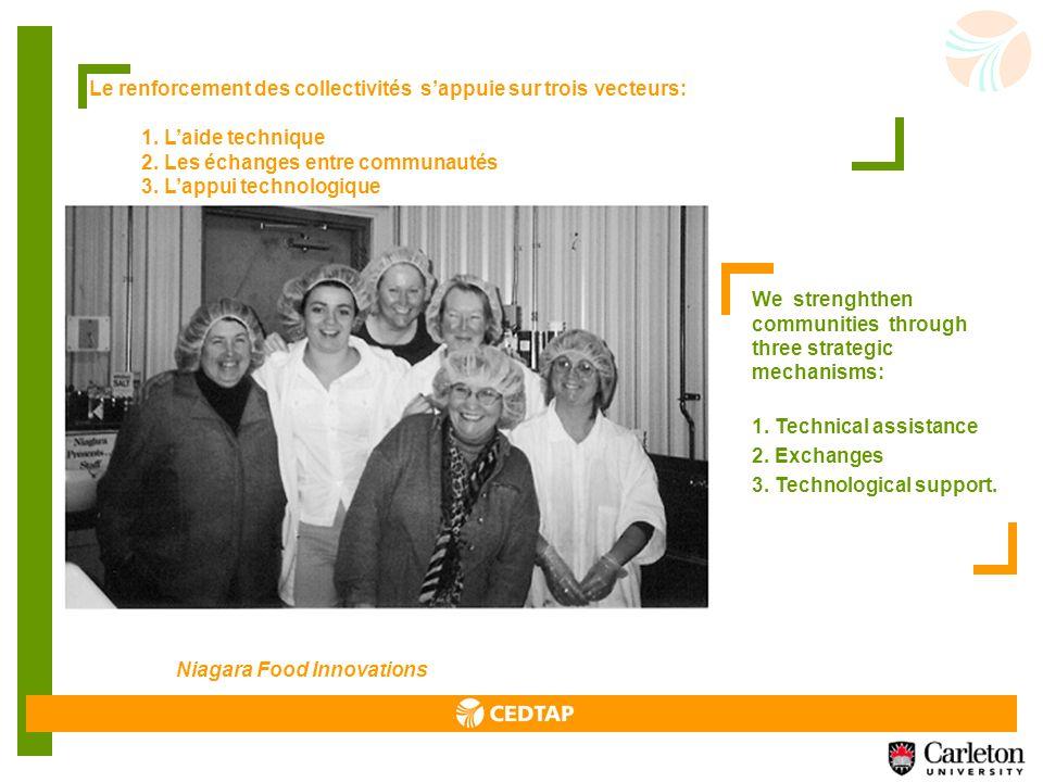 LE PATDEC a mis lemphase dans ce nouveau programme sur lassistance technique aux organisations émergeantes et matures qui ont des contenus innovateurs et qui ont aussi un potentiel de transférabilité important.