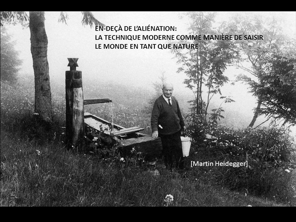 Man sagt, die moderne Technik sei eine unvergleichbar andere gegenüber aller früheren, weil sie auf der neuzeitlichen exakten Naturwissenschaft beruhe.
