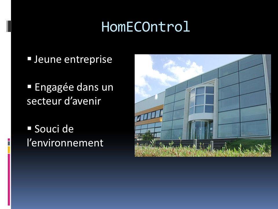Notre produit EcoHome : Dispositif de gestion énergétique.