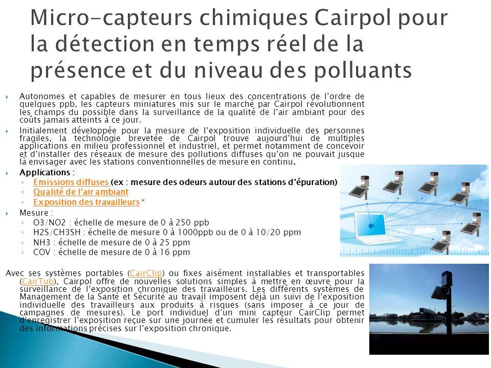 Les systèmes proposés permettent la mesure et le reporting des polluants réglementés tels que HCI, SO2, NO, NO2, NOx, N2O, CO, CO2, CH4, NmHC, TOC, NH3, HF, H2S, TRS, O2, H2O, température, débit, pression, particules, mercure, furanes, dioxines...