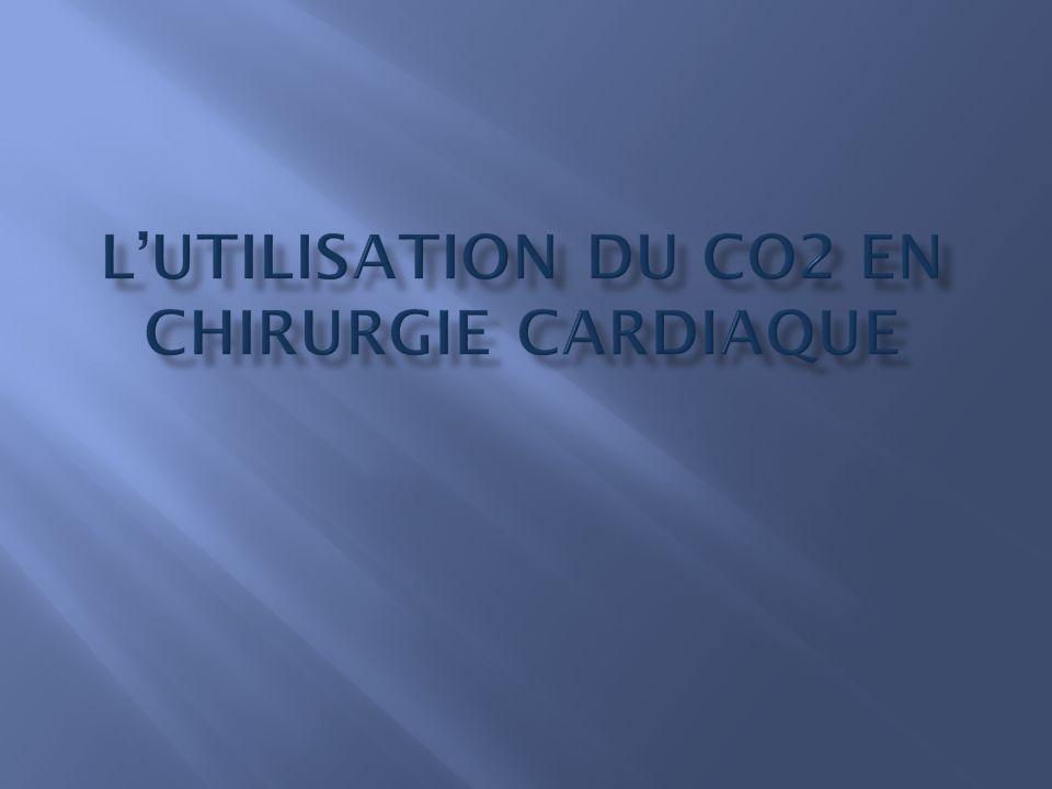 A- Introduction : a- Limportance de la purge b- Les complications c- Lembolie gazeuse d- La technique classique de purge e- La technique de purge améliorée par le CO2 B- Le dioxyde de carbone : C- Lutilisation du CO2 : a- Les techniques dutilisation b- Le matériel c- Les débits D- Les études et les résultats E- Conclusion