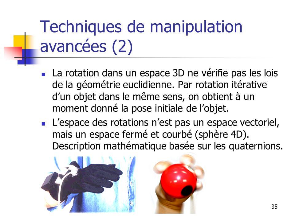 36 Classification des techniques de manipulation par métaphore