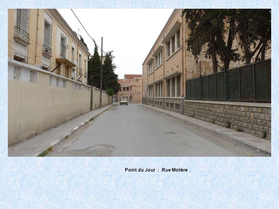 Point du Jour : Rue Molière.