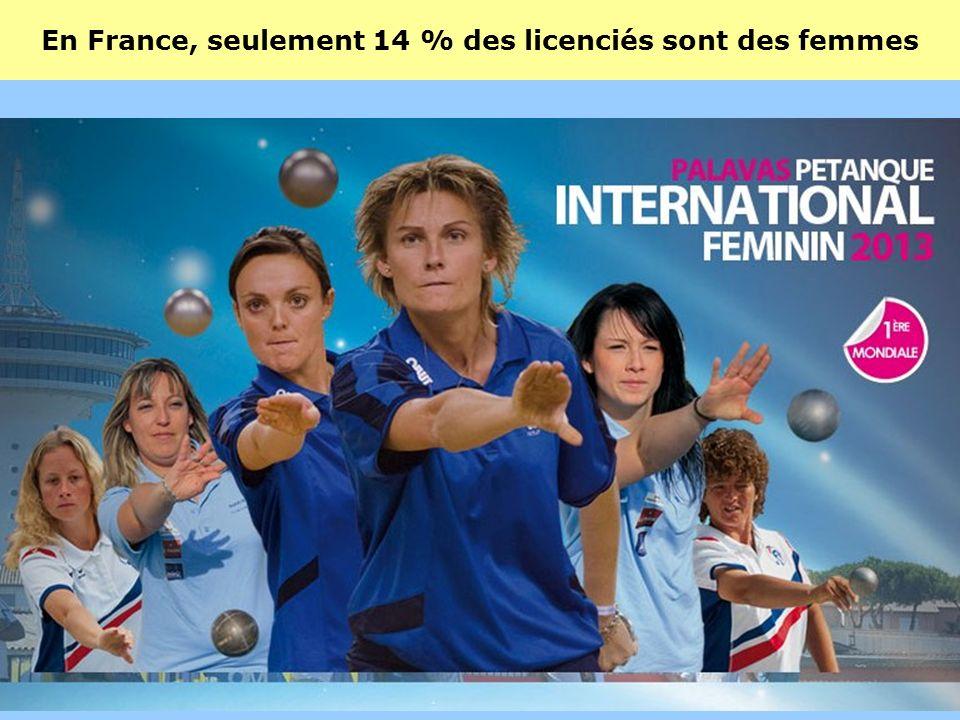 Avec plus de 300 000 licenciés, la pétanque est le 10 ième sport en France