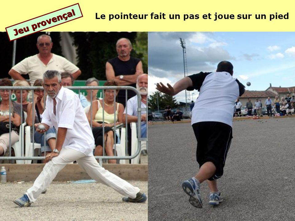 jeu provençal Le jeu provençal se joue entre 15 et 20 mètres