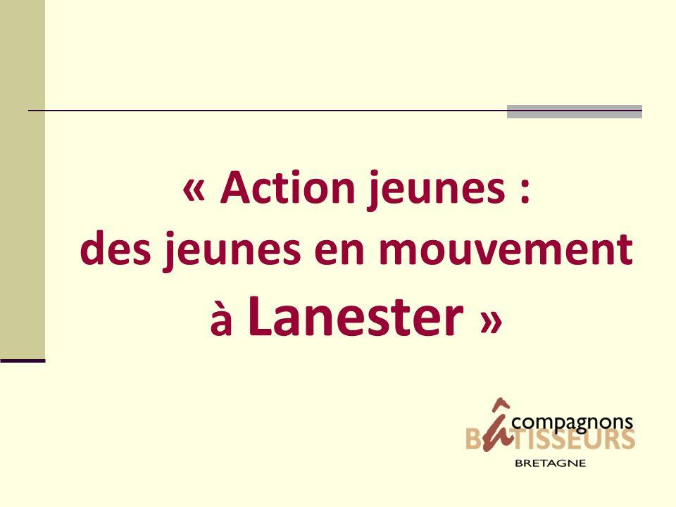 « Action jeunes : des jeunes en mouvement à Lanester »