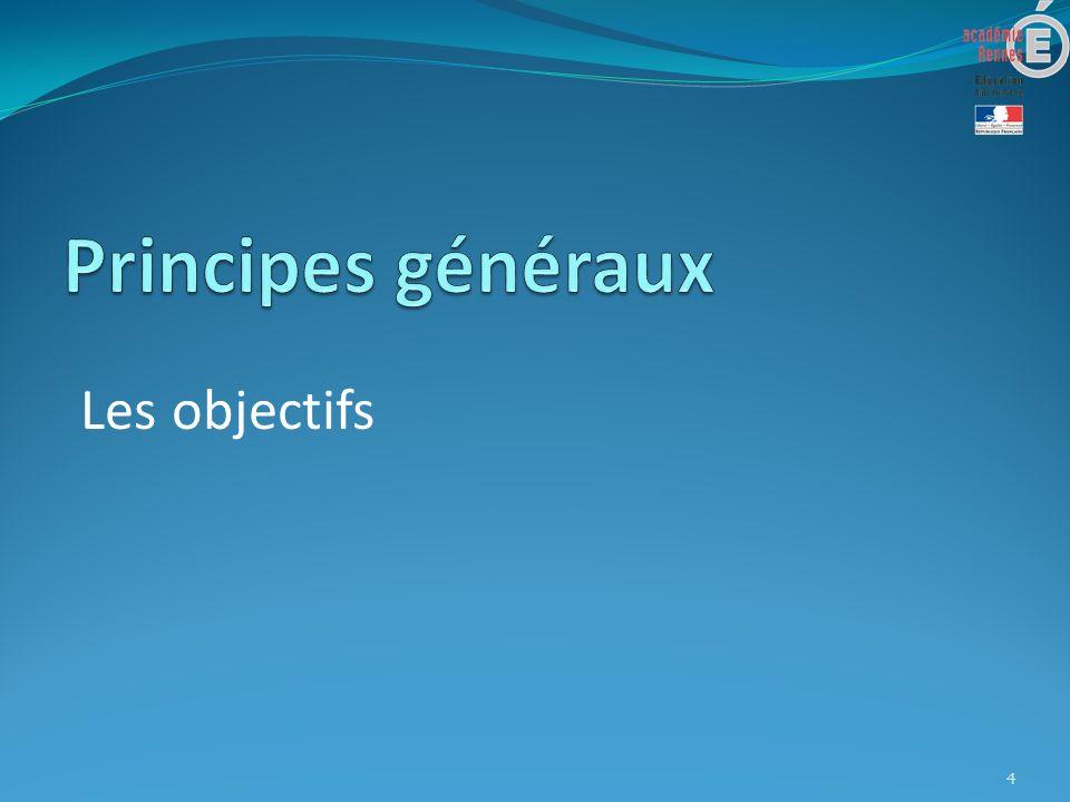 Les objectifs 4