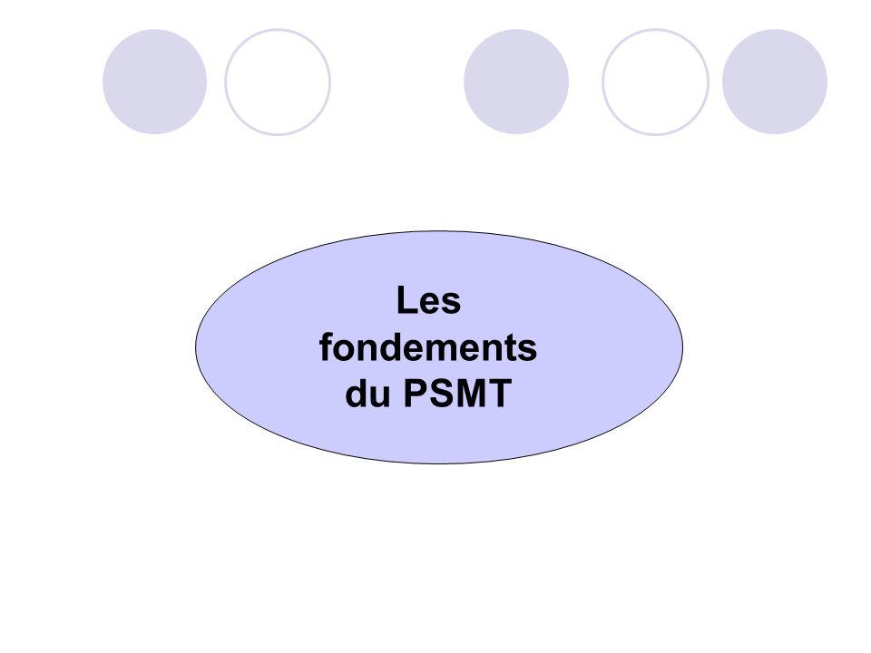 Les fondements du PSMT
