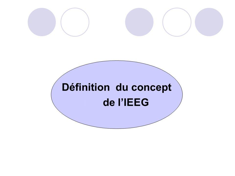 Rôle et responsabilités des partenaires institutionnels du (MEFP) Participer aux activités découlant du processus dIEEG; Nommer des représentant (e) s dont le profil et mandat sont en adéquation avec lactivité pour laquelle leur organisation est sollicitée; Contribuer aux partages dexpériences et de connaissances.