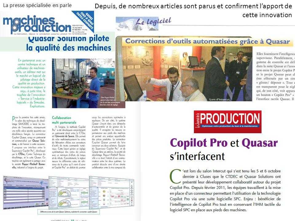 Innovation CoPilotPRo (CTDEC)-QUASAR Solutions 9 Vous souhaitez en savoir plus …..