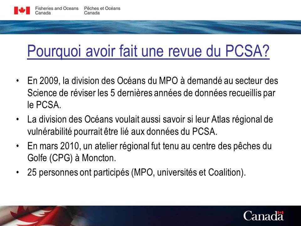 Latlas régional de vulnérabilité de la division des océans Le secteur des Océans a adopté un processus de décision basé sur les risques à lécosystème pour permettre la gestion intégrée des zones côtières dans le sGSL.