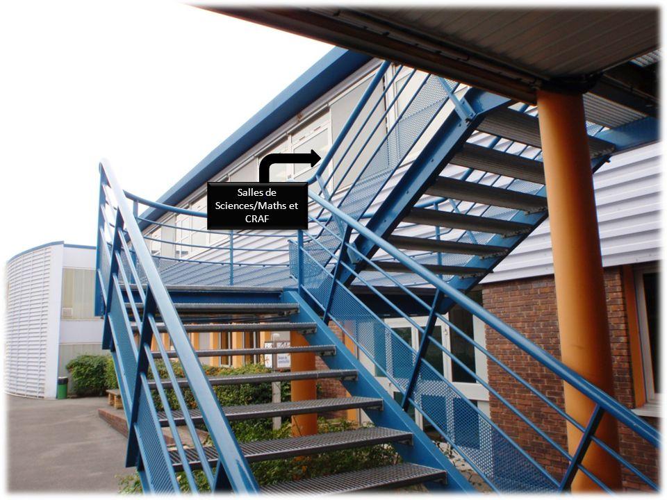 Salles de Sciences/Maths et CRAF Salles de Sciences/Maths et CRAF