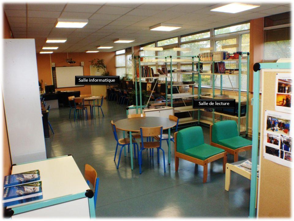 Salle de lecture Salle informatique