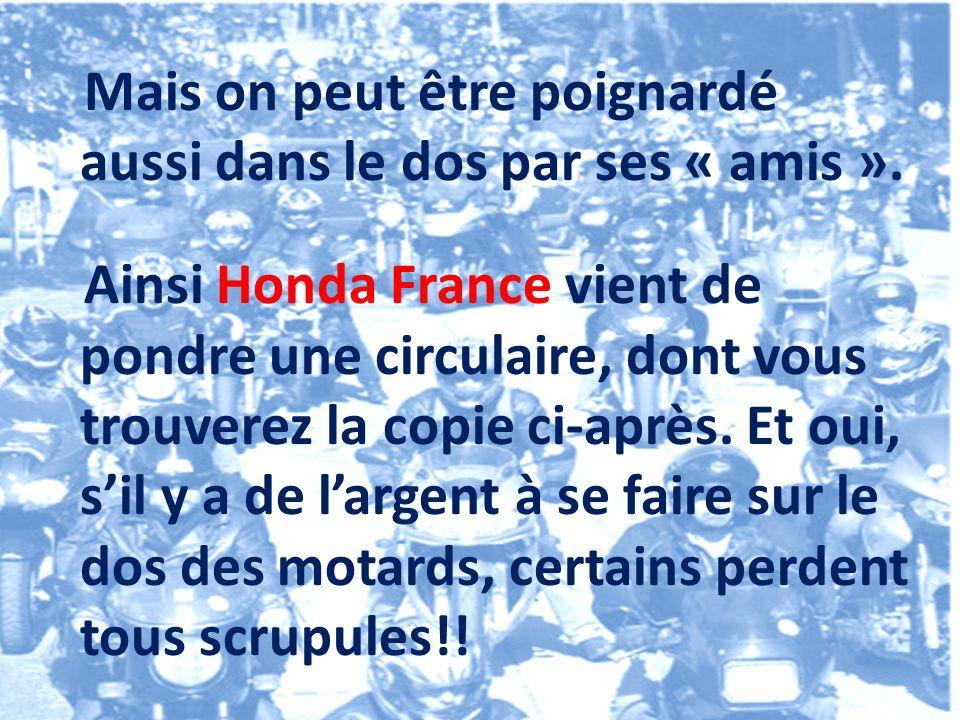 Il en est ainsi par exemple de Sécuritest qui prépare ses centres au CT moto ( http://www.securitest.fr/controle-technique-deux-roues )http://www.securitest.fr/controle-technique-deux-roues et de Dekra qui a fuit le dernier salon de la moto, craignant les réactions des motards!...