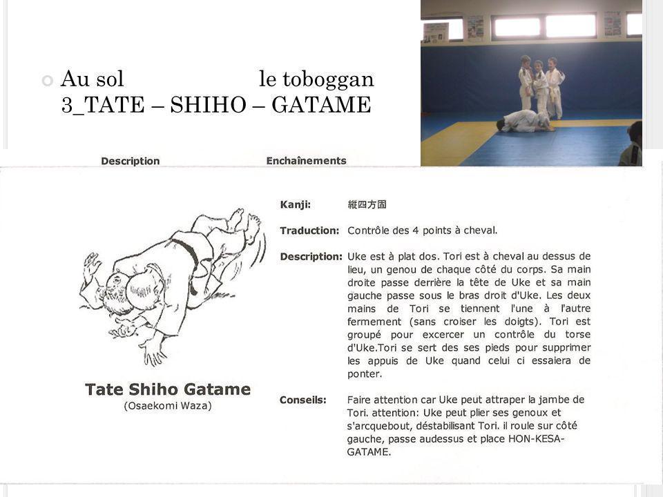 Au sol le toboggan 3_TATE – SHIHO – GATAME