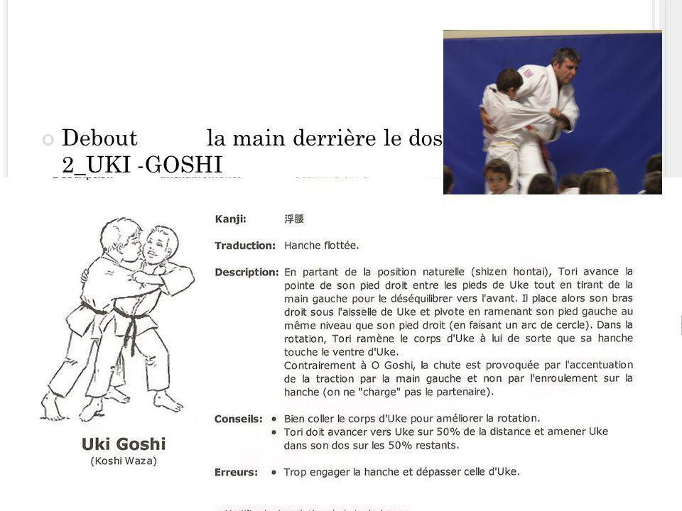 Debout la main derrière le dos 2_UKI -GOSHI