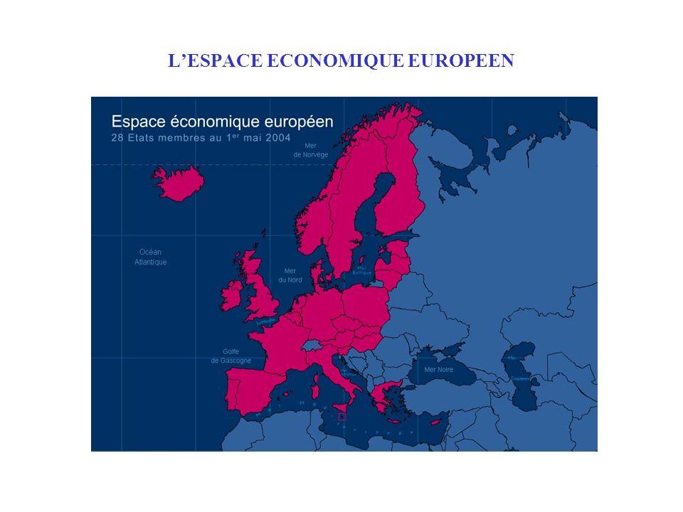 LESPACE ECONOMIQUE EUROPEEN