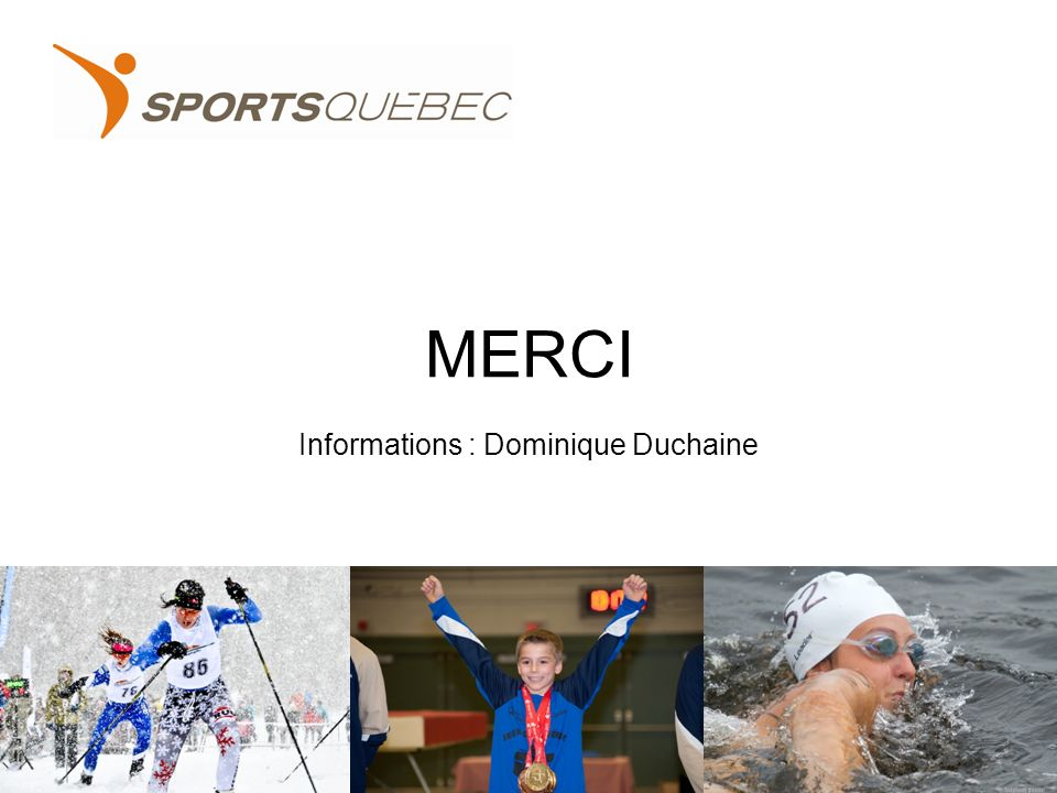 MERCI Informations : Dominique Duchaine 40