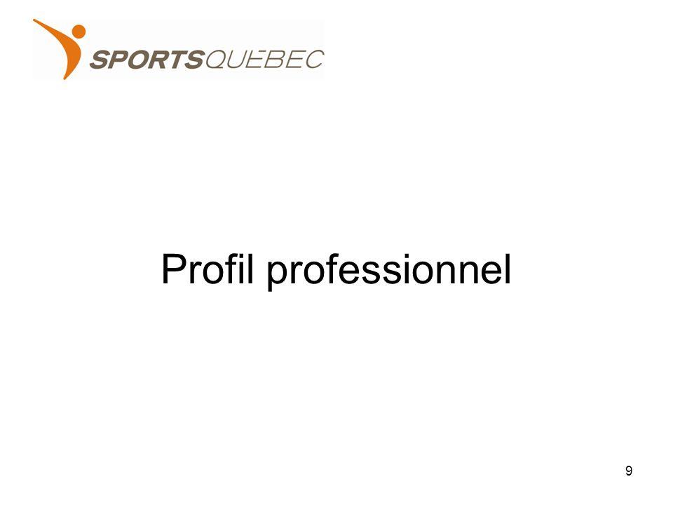 Profil professionnel 9