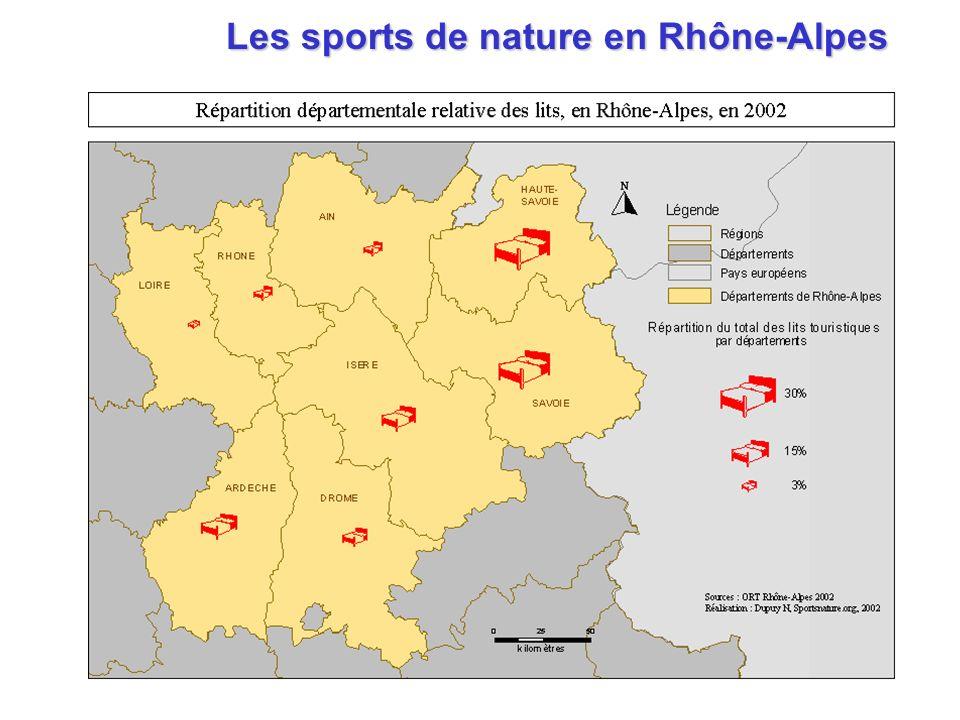 Les sports de nature en Rhône-Alpes Les sports de nature en Rhône-Alpes