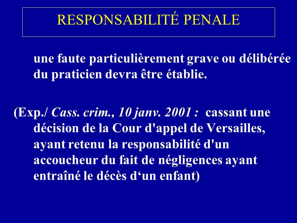 RESPONSABILITÉ CIVILE 1.Définition générale de la responsabilité civile : Dune manière générale la responsabilité civile est lobligation de réparer tout dommage causé à autrui …