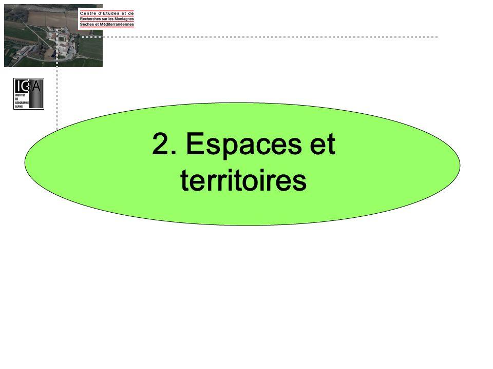 2. Espaces et territoires