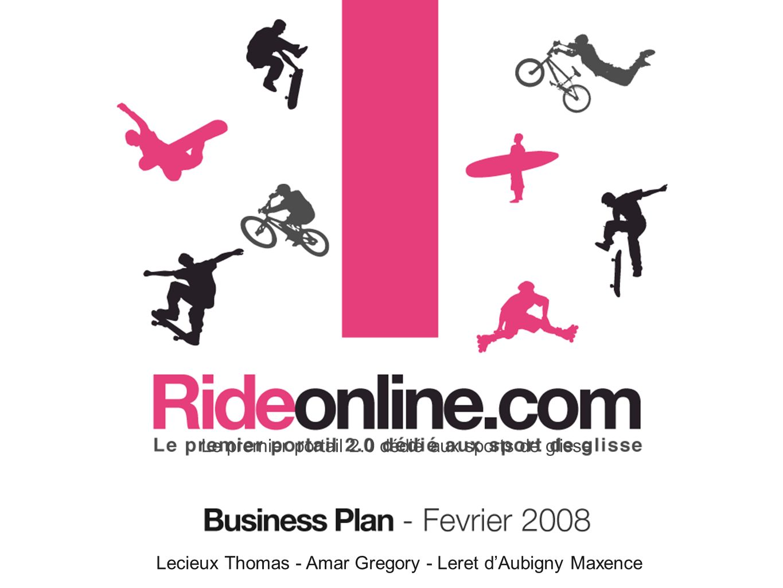 Lecieux Thomas - Amar Gregory - Leret dAubigny Maxence Le premier portail 2.0 dédié aux sports de glisse
