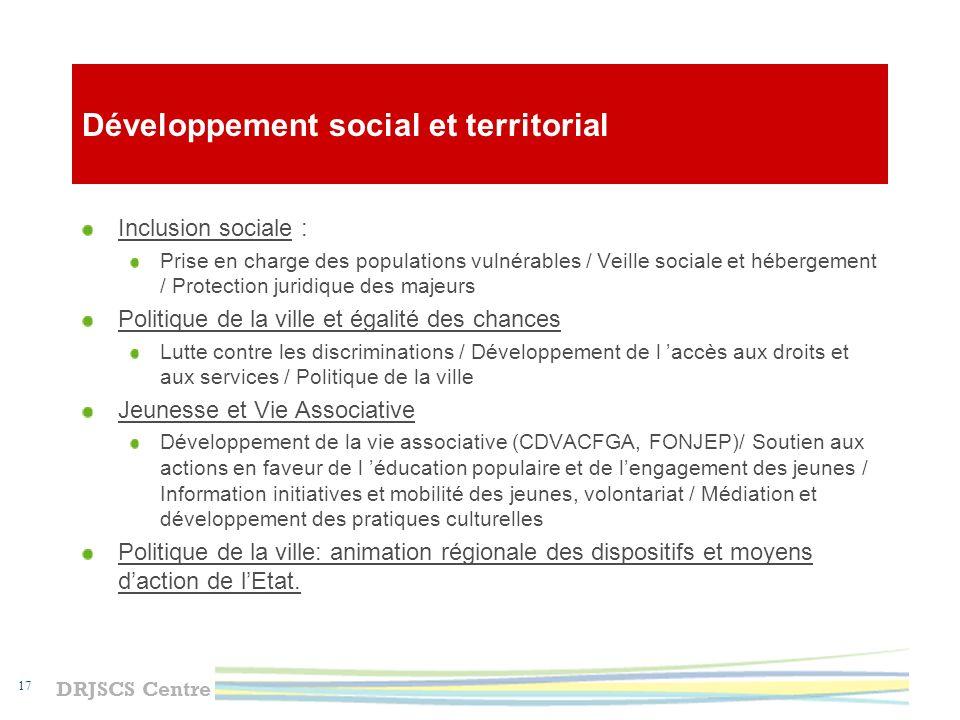 DRJSCS Centre 18 Juridictions sociales Tribunal du contentieux de l incapacité Six tribunaux des affaires de sécurité sociale