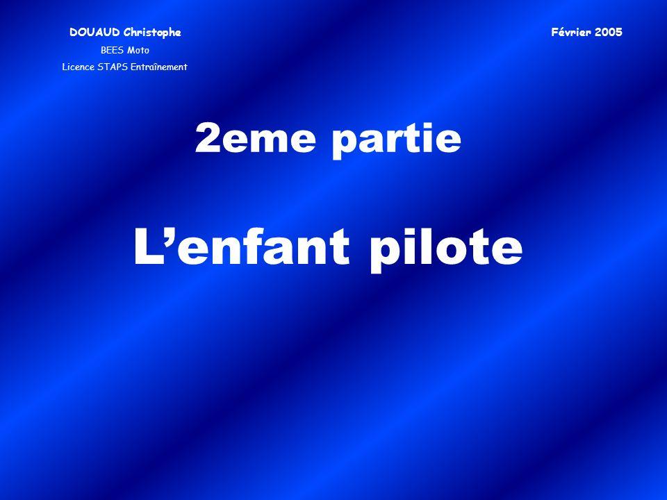 2eme partie Lenfant pilote DOUAUD Christophe BEES Moto Licence STAPS Entraînement Février 2005