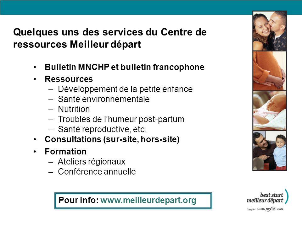 Autres ressources & programmes Série Mouvement et croissance Une série de livrets contenant des activités allant de zéro à sept ans www.cccf-fcsge.ca