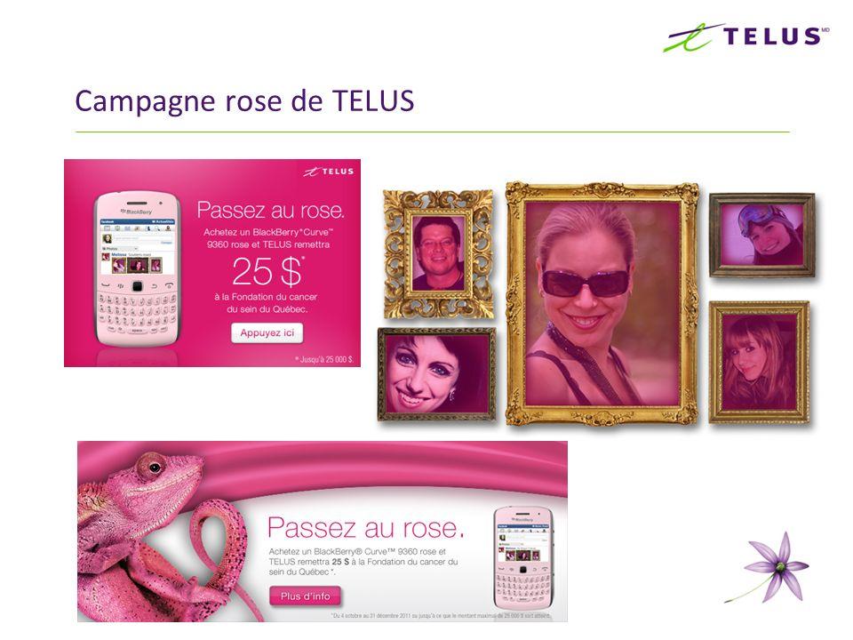 13 Campagne rose de TELUS