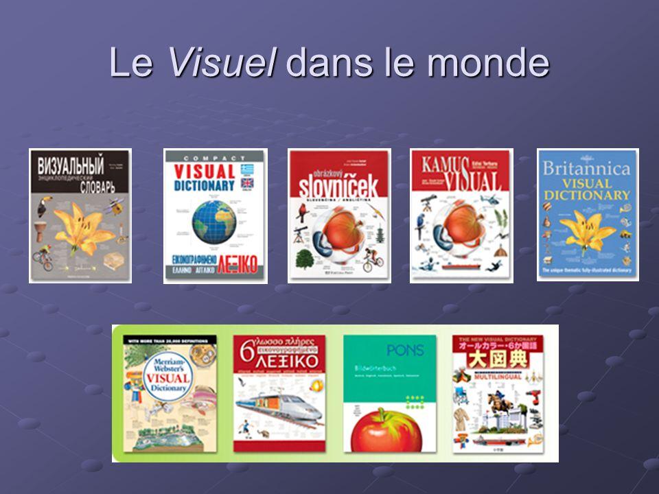 La famille du Visuel Le Nouveau Dictionnaire Visuel - grand format - termes en 1 à 5 langues Le Visuel Définitions - même contenu que le NDV - termes en 1 langue avec définitions