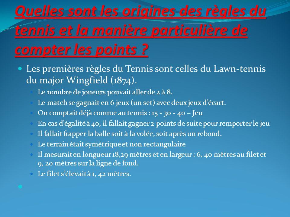 Le tennis est-il plus pratiqué en France ou au RU .