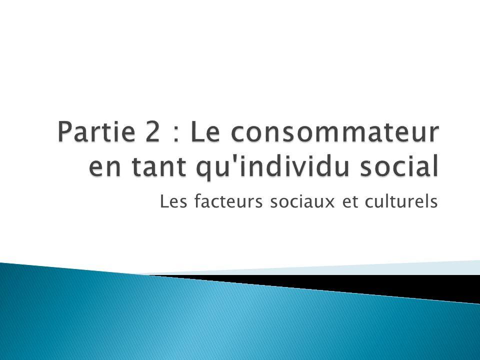 Les facteurs sociaux et culturels