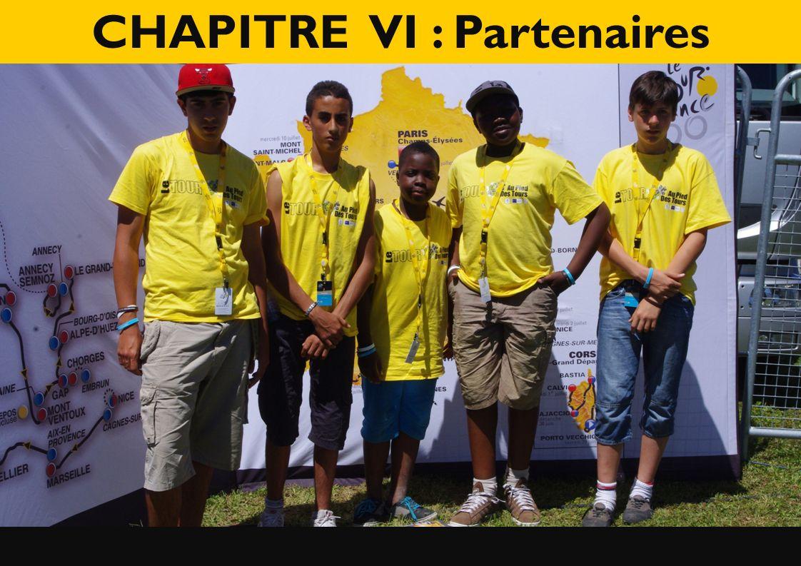 CHAPITRE VI : Partenaires