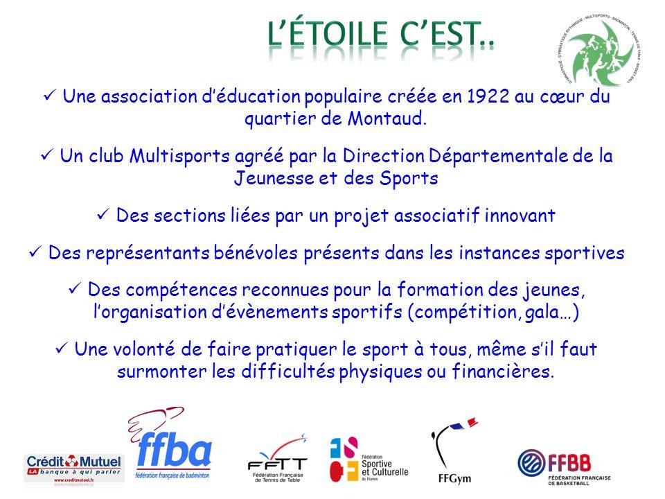 Une association déducation populaire créée en 1922 au cœur du quartier de Montaud. Un club Multisports agréé par la Direction Départementale de la Jeu