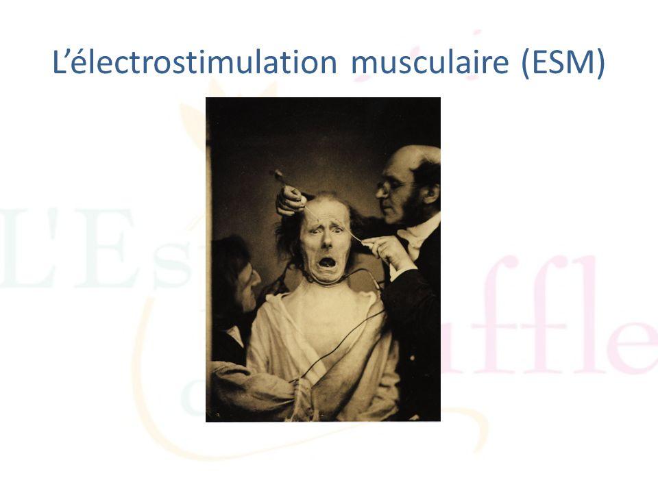 Lélectrostimulation musculaire (ESM)