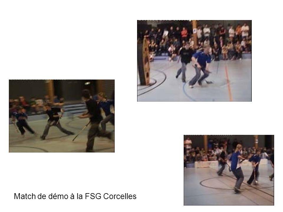Match de démo à la FSG Corcelles