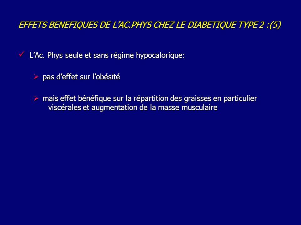 EFFETS BENEFIQUES DE LAC.PHYS CHEZ LE DIABETIQUE TYPE 2 :(5) LAc.