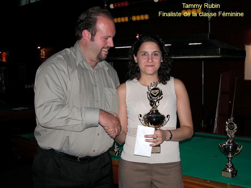 Tammy Rubin Finaliste de la classe Féminine