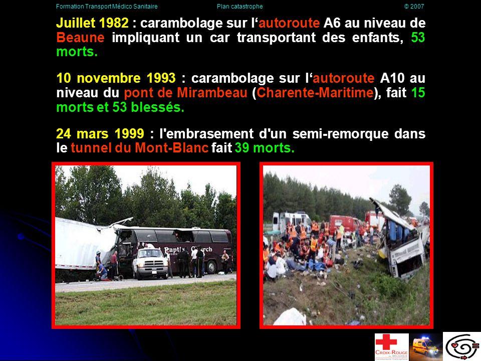 La route 11 juillet 1978 : A Los Alfaques (Espagne), un camion chargé de 45 m³ de propylène liquéfié sous pression, quitte la route et termine sa course dans un camping.