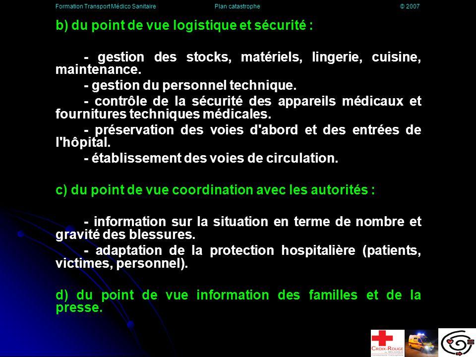 Mise en Alerte des Services Hospitaliers - Plan MASH Plan d action pour faire face aux accidents majeurs internes et extérieurs de l hôpital.