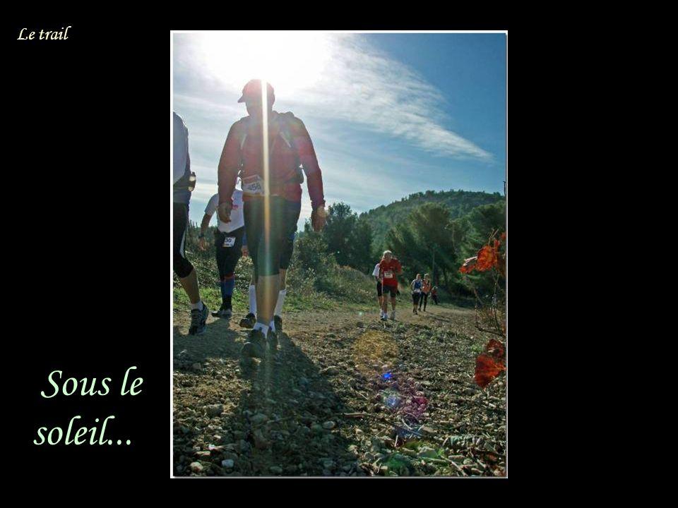 Sous le soleil... Le trail