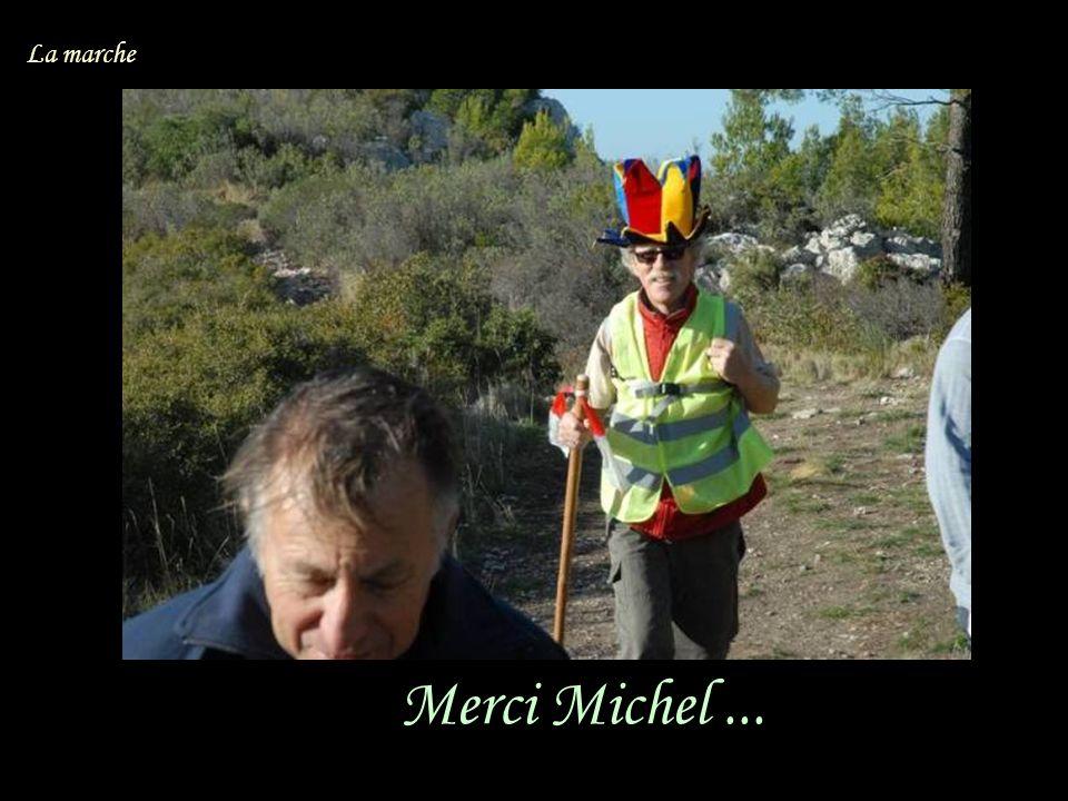 Merci Michel... La marche
