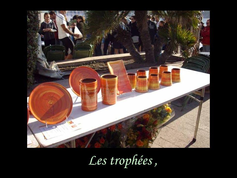 Les trophées,